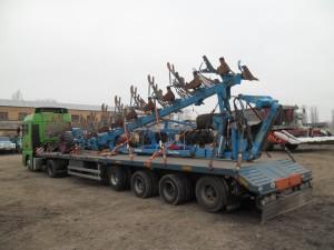 Перевозка-оборотного-плуга-LEMKEN-Германия-Украина
