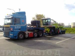 Перевозка-комбайна-Jaguar-850